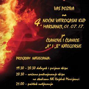 Nastup ekipa DVD VZG Belišće na 4. Noćnom kupu DVD-a Marijanci