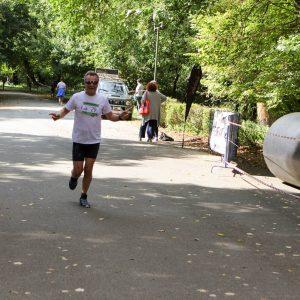 Član DVD-a Belišće na 2. Baranjskom Ferivi polumaratonu