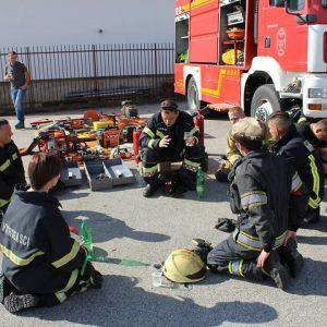 Dvije članice DVD-a Belišće na prvom Firefighting Challenge Day