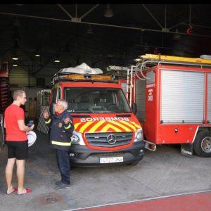 Član DVD-a Belišće u posjetu vatrogascima Seville u Španjolskoj