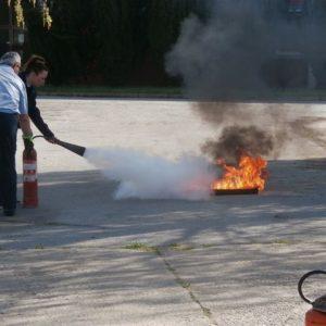 "Osposobljavanje za zvanje ""vatrogasac"" i ""vatrogasac I. klase"""