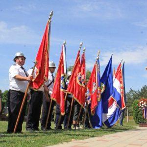 Vatrogasci u proslavi Dana hrvatskih branitelja grada Belišća