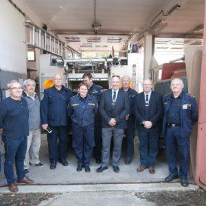 Posjet britanskih vatrogasaca DVD-u Belišće