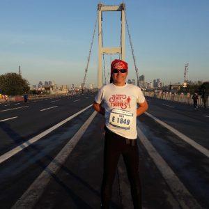 "Član DVD-a Belišće Zdenko Cerovečki na ""Vodafone Istanbulskom maratonu"""